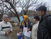 18 ноября волонтеры БФ «Мариам» в рамках Аакции «корзины любви» побывали в селе Игоревка, Приазовского р-н.
