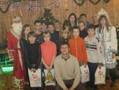 Рождественские подарки из Ирландии  получили дети Мелитополя